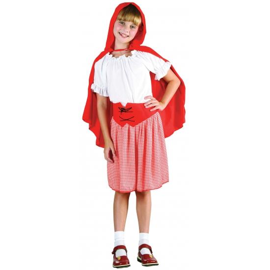 Roodkapje outfit voor meisjes Carnavalskostuum winkel Fantasy en Sprookjes kostuums