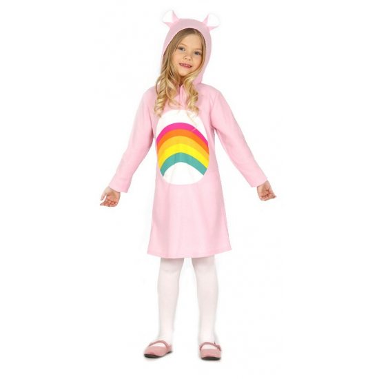 Roze beren jurkje voor meisjes