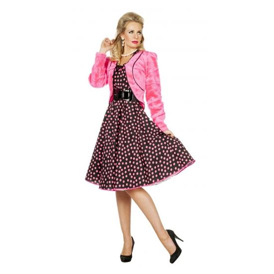 Roze bontjasjes voor dames
