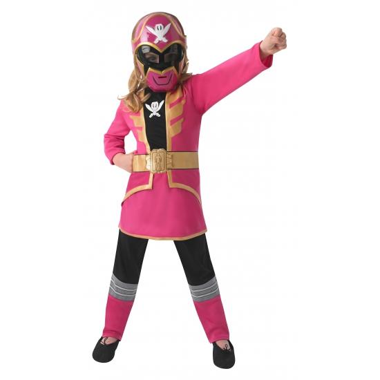 Superhelden en Cartoon kostuums Carnavalskostuum winkel Roze Power Ranger kostuum voor kinderen