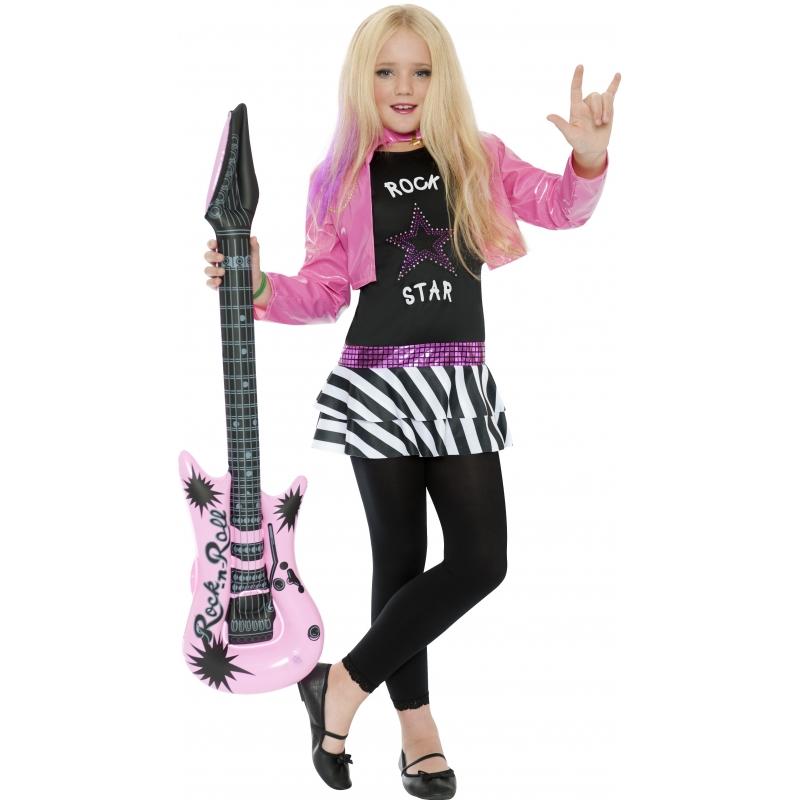 Roze rockers pakje voor meiden Smiffys Premier