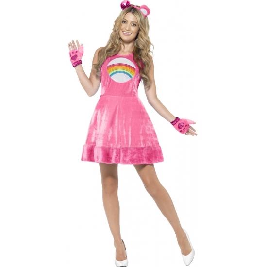 Dierenpakken Smiffys Roze Troetelberen jurkje