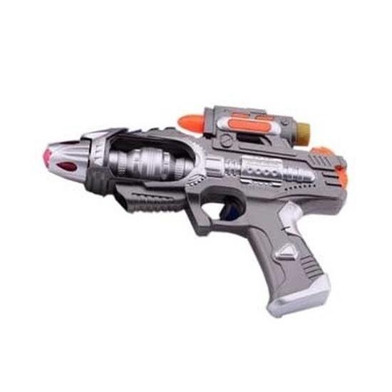 Ruimte pistool met licht en geluid