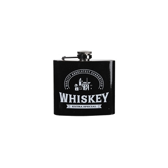 RVS zakflesje whiskey 150 ml