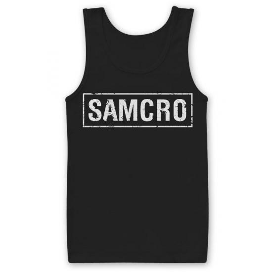 SAMCRO fan tanktop van katoen Carnavalskostuum winkel Beste koop