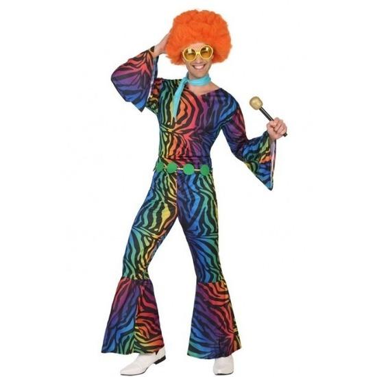 Seventies/disco verkleedkleding voor heren