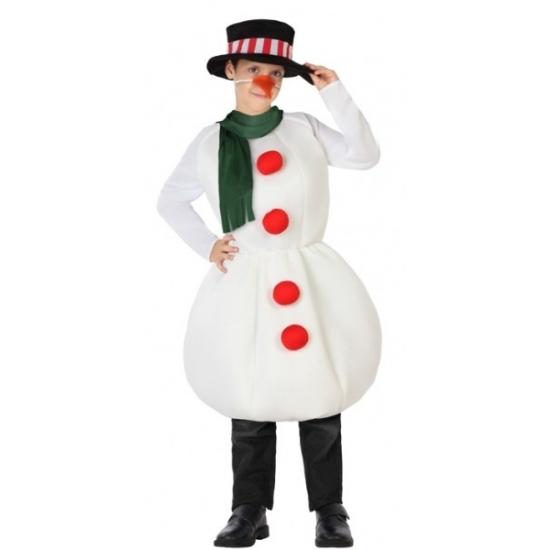 Kerst kostuums Carnavalskostuum winkel Sneeuwpop outfit voor kinderen
