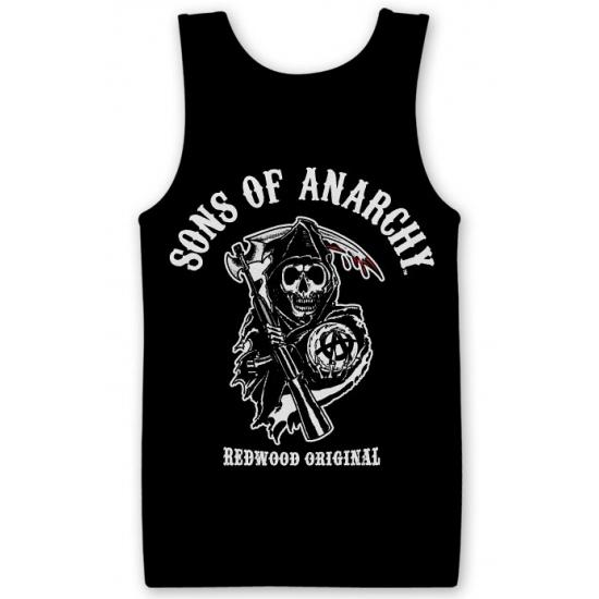 T shirts Carnavalskostuum winkel Sons Of Anarchy fan tanktop van katoen