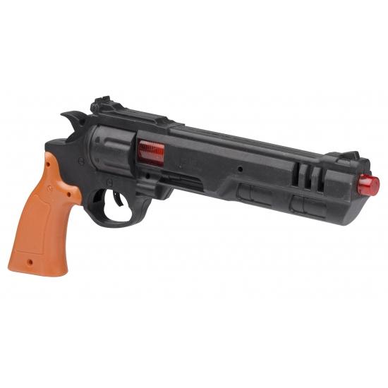 Speelgoed Dirty Harry politie pistool 36 cm