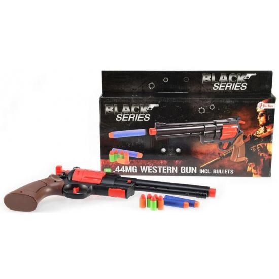 Wapens Carnavalskostuum winkel Speelgoed revolver met foam kogels