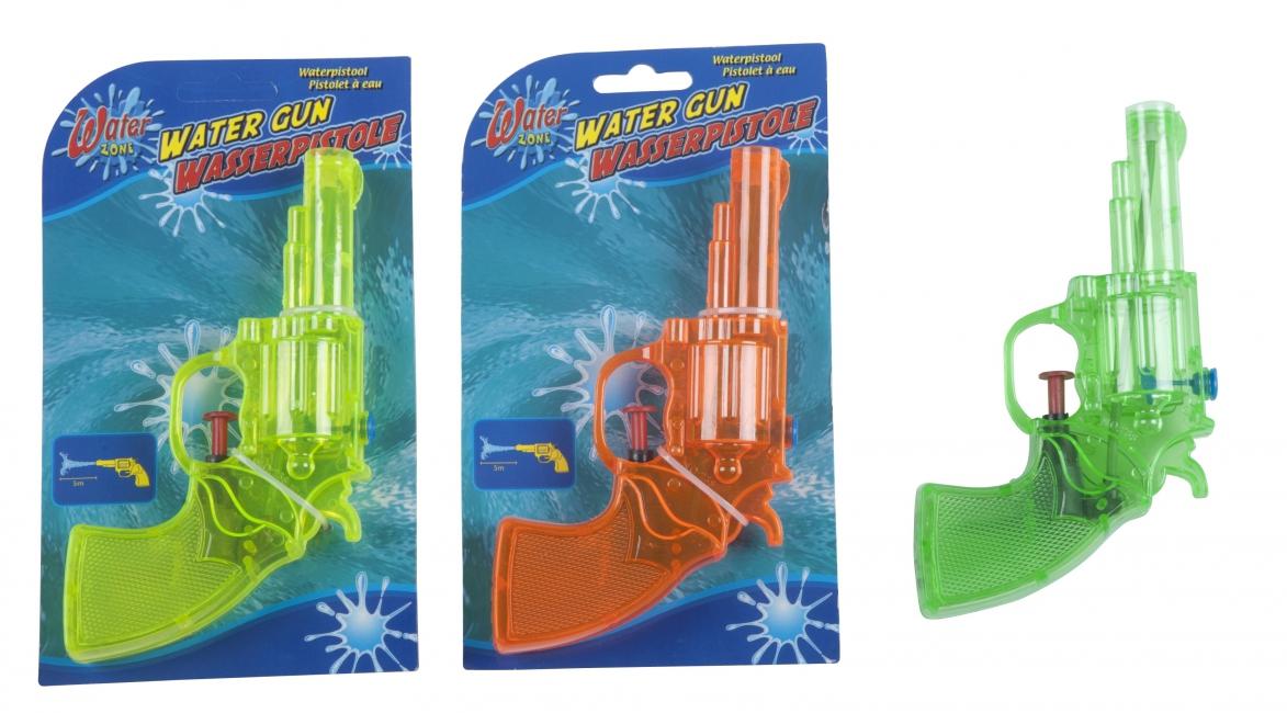 Speelgoed waterpistool gekleurd