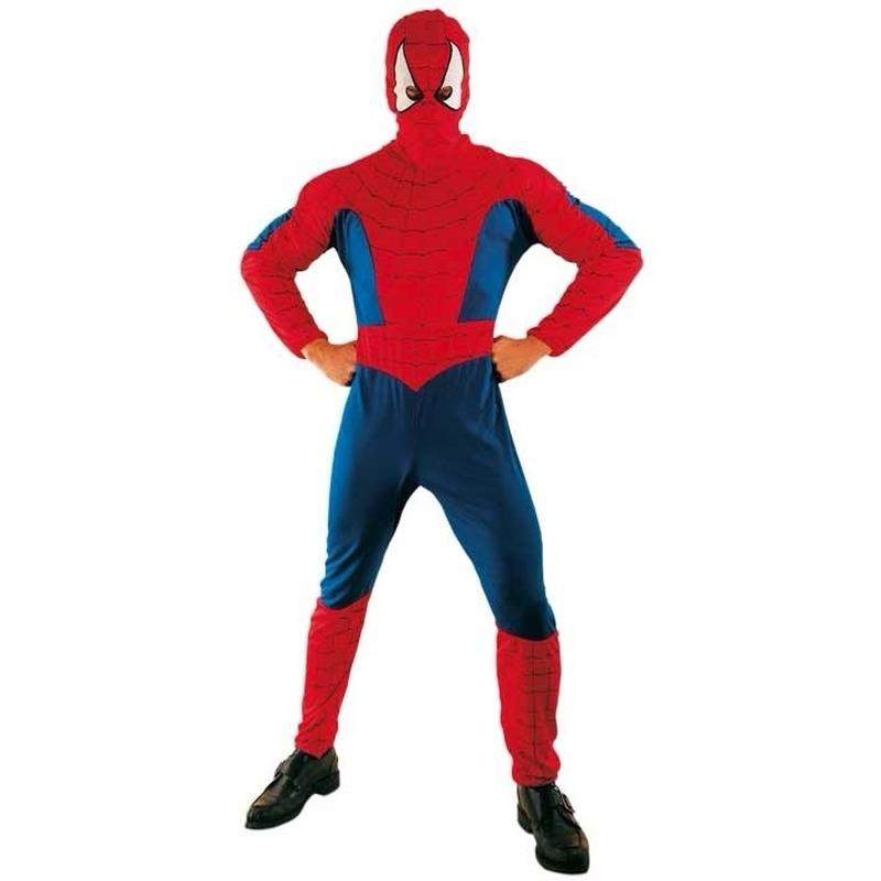 Superhelden en Cartoon kostuums Carnavalskostuum winkel Spinnenheld kostuum voor volwassenen