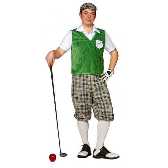 Sport kostuums golf speler