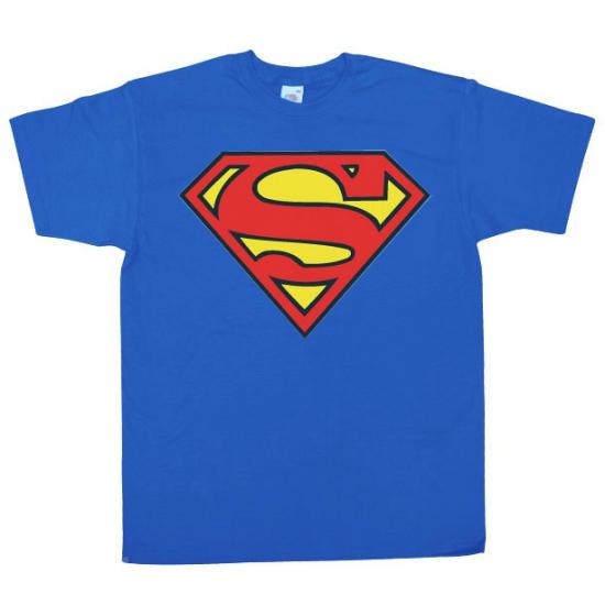 Superman logo heren shirt van katoen Superman T shirts