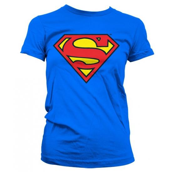 Superman Superman logo shirt dames T shirts