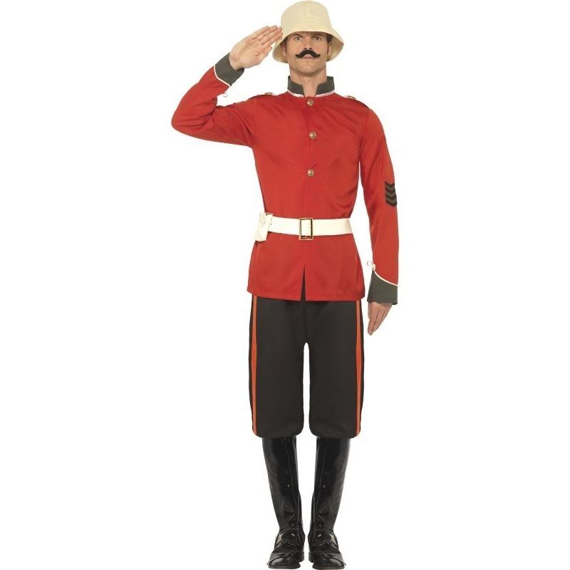 Themafeest Boerenoorlog soldaat kostuum voor heren