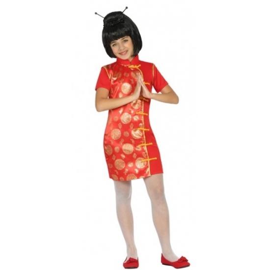 Themafeest Chinees kostuum voor meisjes
