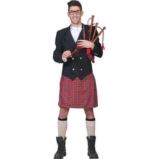 Themafeest Compleet Schots kostuum voor heren