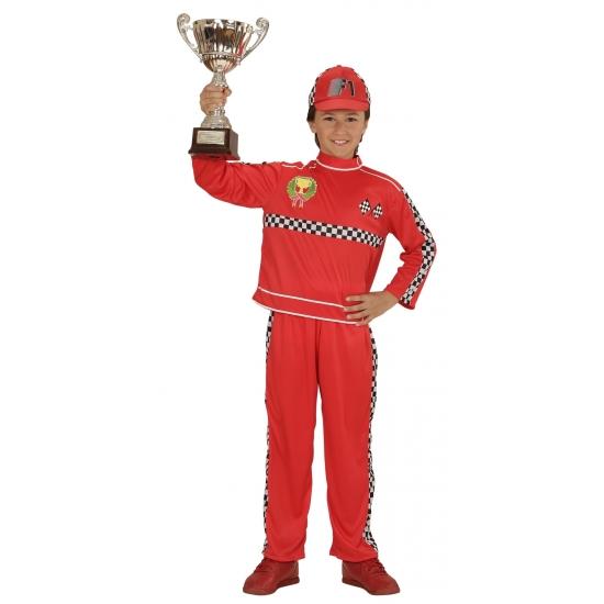 Themafeest Formule 1 coureur kostuum voor kinderen