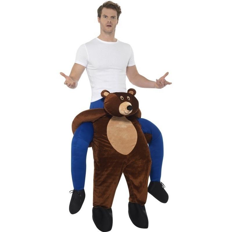 Themafeest Instap dierenkostuum beer voor volwassenen