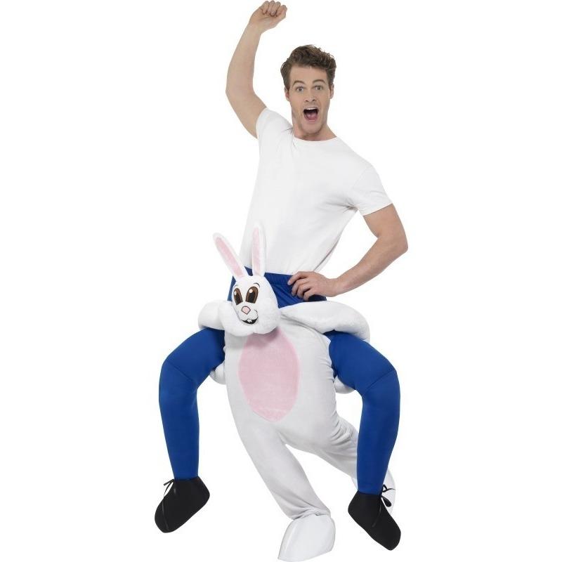 Themafeest Instap dierenpak kostuum konijn/haas voor volwassenen