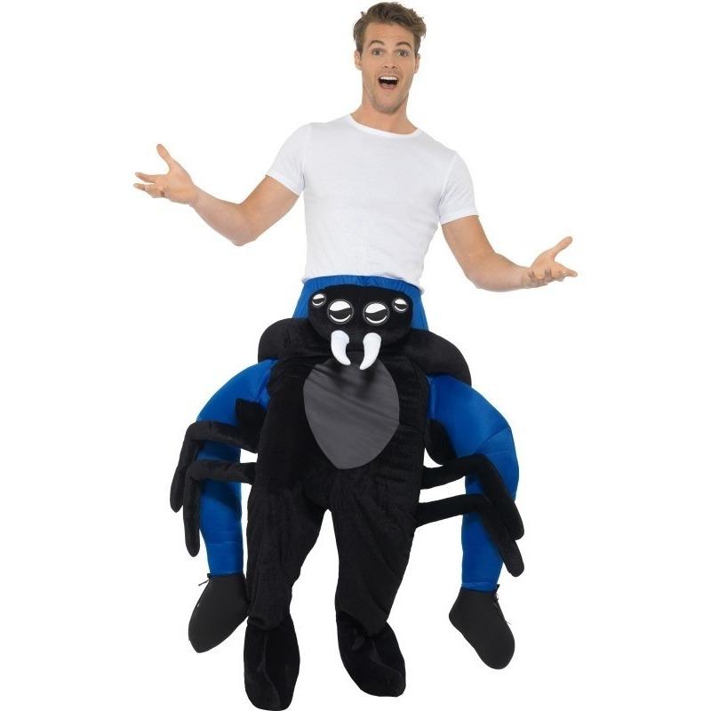 Themafeest Instap dierenpak kostuum spin voor volwassenen