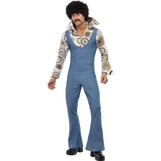 Themafeest Jaren 70 disco kostuum voor heren