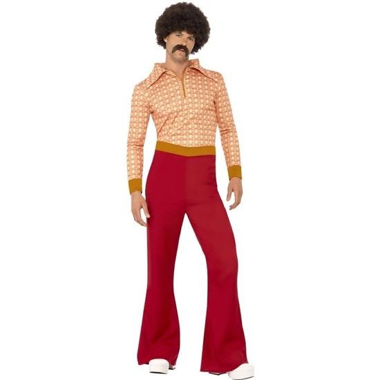 Themafeest Jaren 70 seventies kostuum voor heren