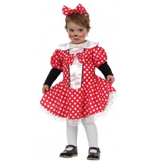 Themafeest Muizen meisje jurkje voor peuters