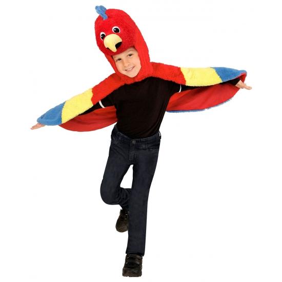 Themafeest Papegaai kostuum voor peuters