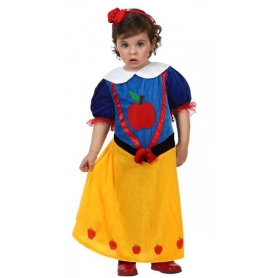 Themafeest Prinsessen baby kostuum
