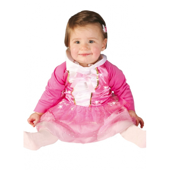 Themafeest Roze prinsessen jurkje voor babys