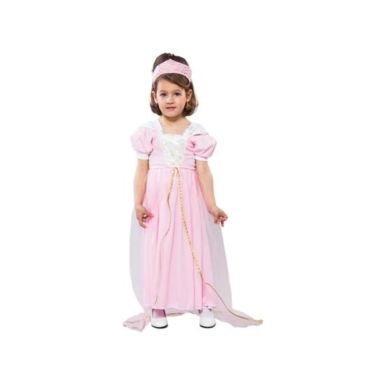 Themafeest Roze prinsessen jurkje voor peuters