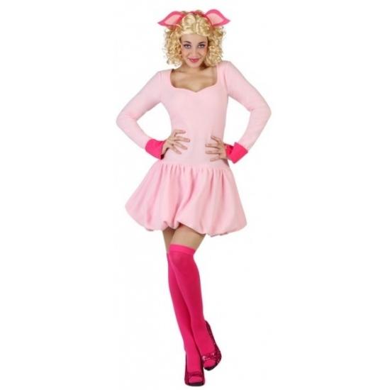 Themafeest Sexy varken kostuum voor dames