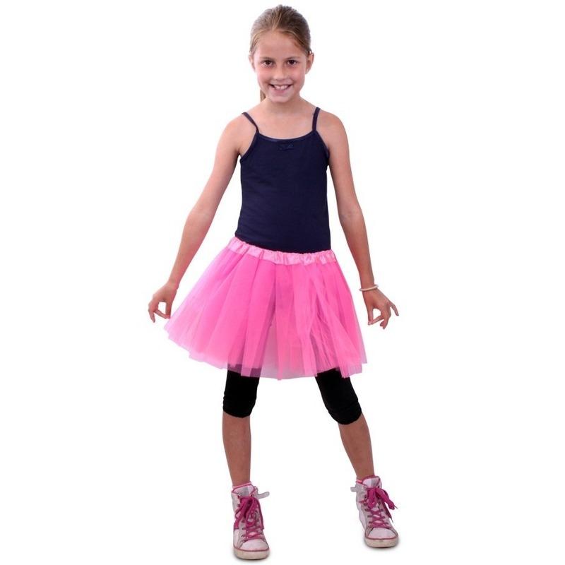 Themafeest Tule rokje voor meisjes roze