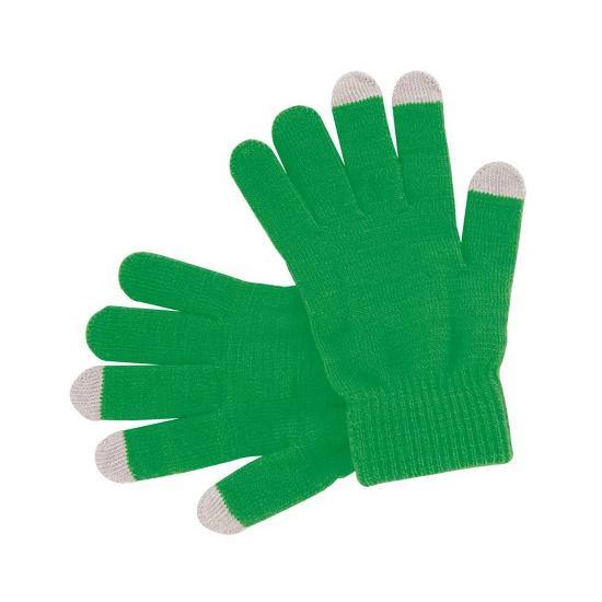 Touchscreen handschoenen groen