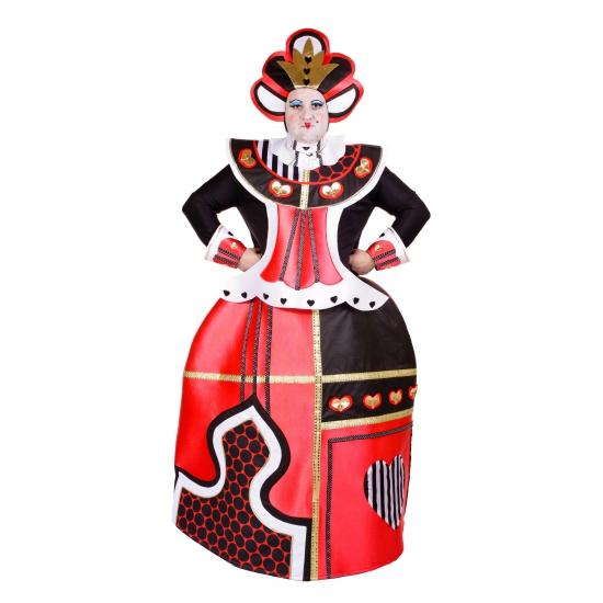 Fantasy en Sprookjes kostuums Unisex Harten Koningin kostuum