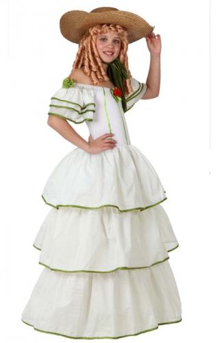 Geschiedenis kostuums Carnavalskostuum winkel USA kostuum Southern Belle voor meisjes
