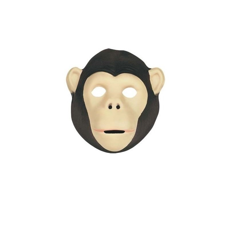Verkleed Apen masker van soft foam