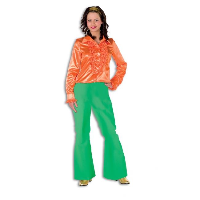 Verkleed broeken groen voor dames