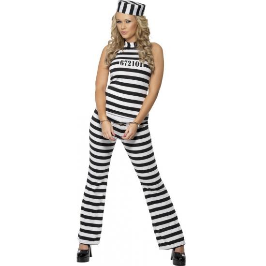 Beroepen kostuums Verkleed outfit boef voor dames