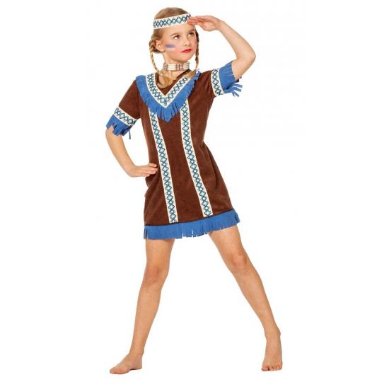 Verkleed outfit indiaan voor meiden