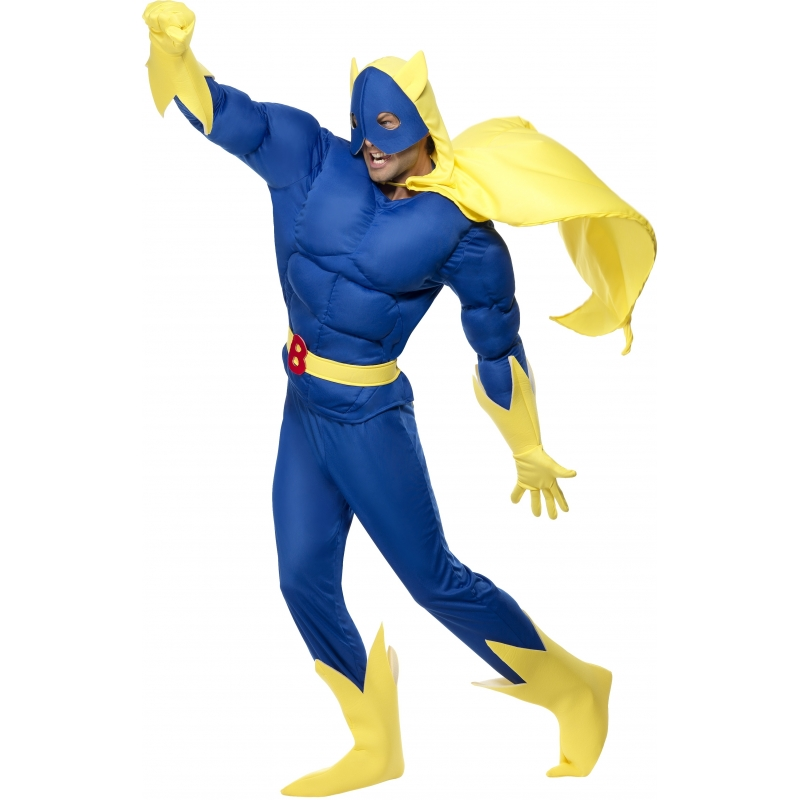 Verkleedkleding Bananaman kostuum