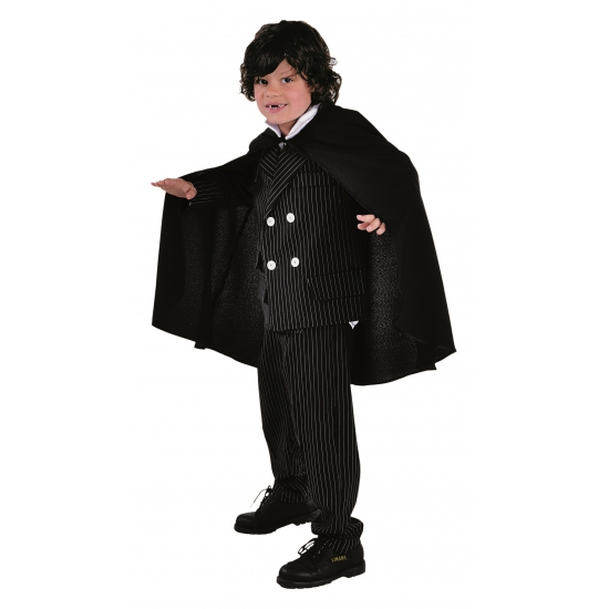 Halloween kostuums Verkleedkleding cape zwart voor kinderen