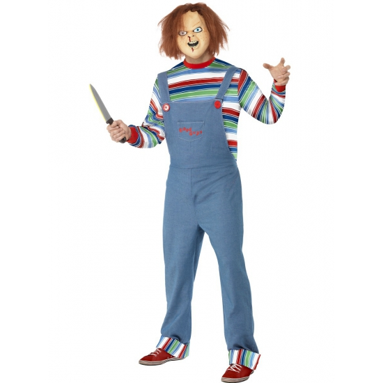 Verkleedkleding Chucky kostuum voor heren