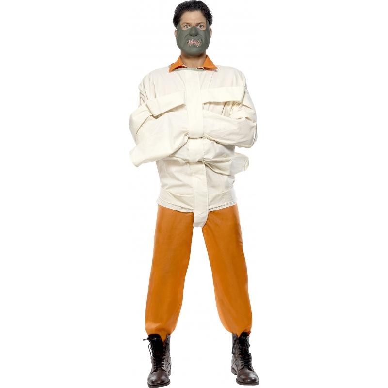Verkleedkleding Hannibal Lecter kostuum