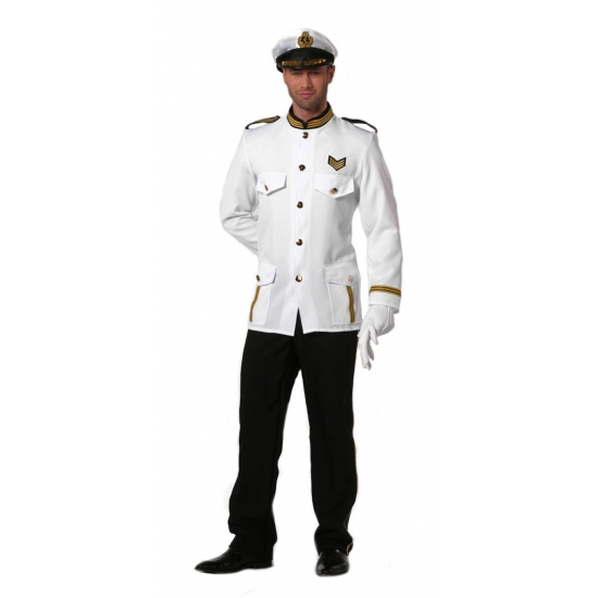 Verkleedkleding Kapitein kostuum voor heren