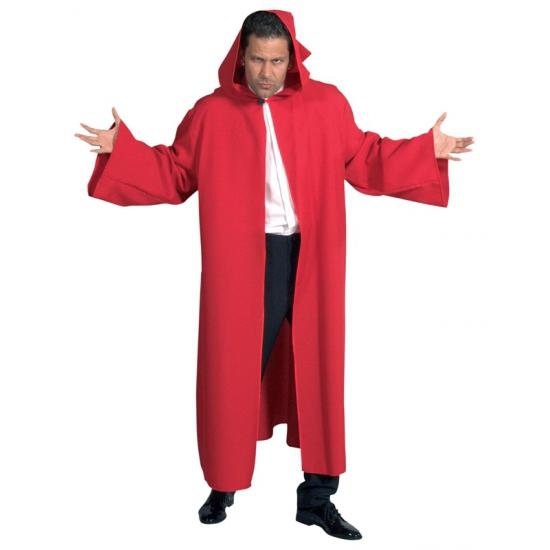 Verkleedkleding Luxe rode mantel