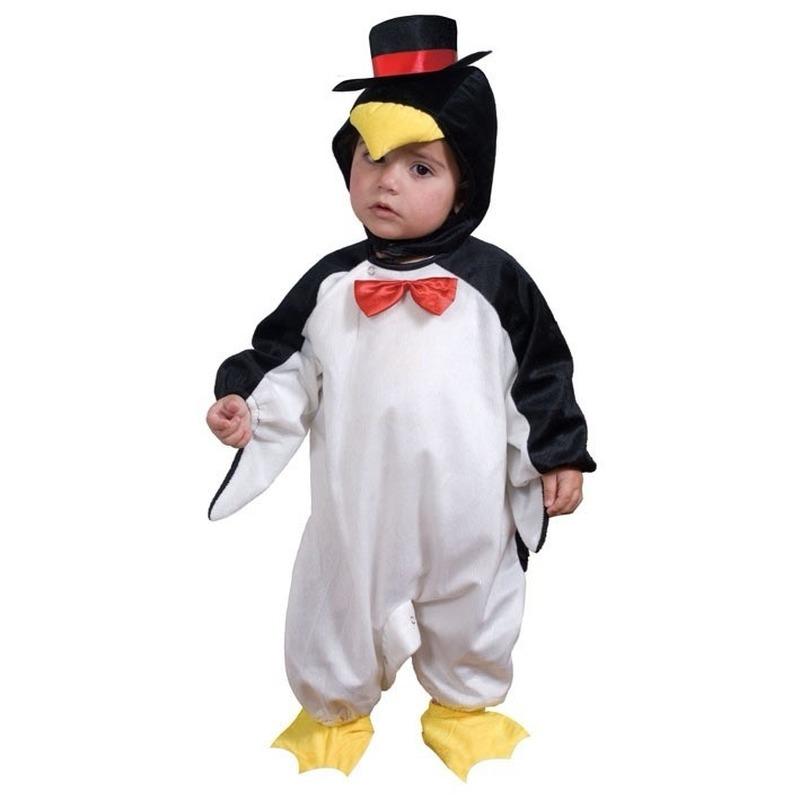 Verkleedkleding pinguin voor peuters