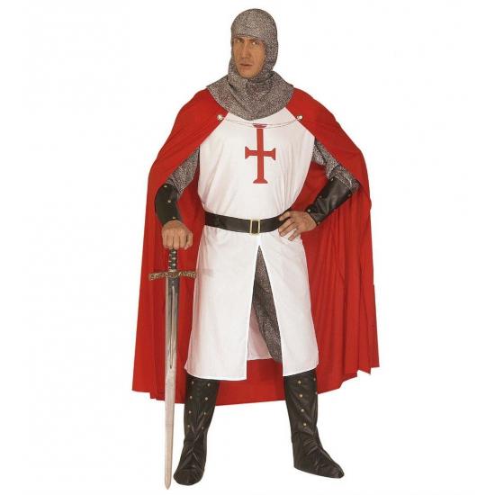 Verkleedkleding Ridder kostuum voor heren luxe